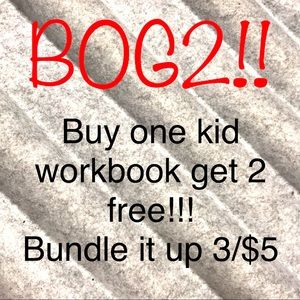 BOG2 Kid's Workbooks